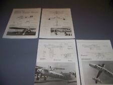 VINTAGE..HE 51B-1 & FW 56 STOSSER..4-VIEWS/DETAILS..RARE! (834B)