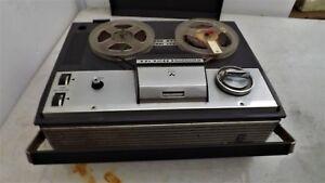 Vintage Rare model Grundig TK 120 Deluxe reel to reel tape recorder