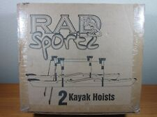 RAD SPORTZ 2 KAYAK HOISTS  ***NEW IN BOX***