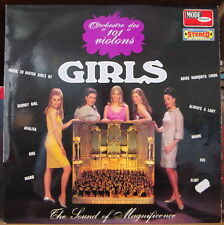 "ORCHESTRE DES  ""101 VIOLONS"" GIRLS CHEESECAKE COVER  FRENCH LP"