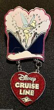 RARE 2006 DISNEY CRUISE LINE HAPPY VALENTINE'S DAY TINKER BELL DANGLE PIN LE 500