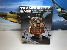 More details for vintage revell tranquility base & apollo 11 lunar module model kit still wrapped