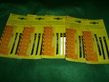 LESTO JIGSAW BLADES FOR WOOD FOR BLACK AND DECKER SKIL ETC SWISS MADE 20 BLADES