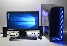 "GAMING PC SET 23"" Quad i5 16 GB RAM 240GB SSD 6 GB GDDR5 GTX 1060 WINDOWS 10"