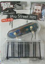 Tech Deck Pro Street Hits  Chris Haslam   NRFB  VHTF  fingerboard + bike rack