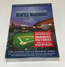 Brand New Essential Games Of The Seattle Mariners 4 DVD Set Kingdome Safeco