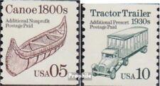 USA 2137-2138 (kompl.Ausg.) postfrisch 1991 Fahrzeuge