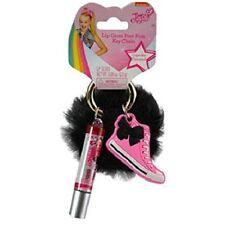 JOJO Siwa Lip Gloss Pom Pom Key Chain Perfect for Gifts New with Tags - Black