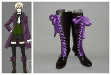 Black Butler Alois Trancy Version 3 Cosplay Costume Boots Boot Shoes Shoe