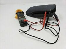 Uei Utl260 Universal Trade Line Ac Clamp Meter Digital Onoff Light Hold Withcase
