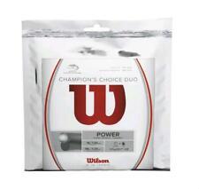 Wilson Champions Choice(Luxilon ALU Power Rough/Wilson Natural Gut)Tennis String