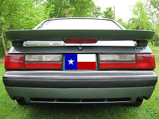 "1979-1993 Unpainted Ford Mustang Hatchback ""Saleen Style"" 2post Spoiler"