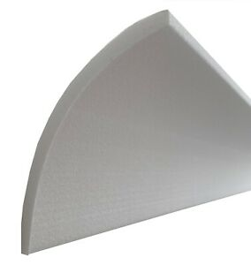 30 Mètres Espalier Couvrir Zierleiste-N Profil Plat 100x100 MM Stuckleiste-N D-3