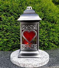 Grablaterne inkl Granitsockel Grablampe Grableuchte Granit Grablicht Kerze Engel