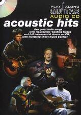 Play Along Guitar Acoustic Hits CD audio - 5 Tubes acoustiques