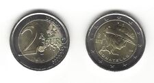 2 Euro Gedenkmünze 2016 aus Italien, 550. Todestag von Donatello, bankfrisch