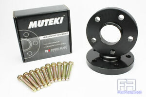 Muteki Forged 20mm Hub Centric Wheel Spacer 5x100 56.1 +Stud 12x1.25 14.38 Knurl