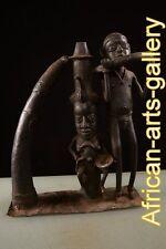 58205 Bronze Alte Königin der Bamun Kamerun /Cameroon Afrika