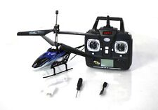 """RC Helicopter Syma S32 Remote Radio Control 2.4G 3CH 12"""" RC Helicopter Blue Heli"""