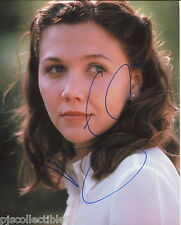 Maggie Gyllenhaal Signed Nice Close Up Color 8x10 With COA