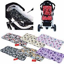 BABYLUX Matratze für Kinderwagen Babywanne Buggy Sitzauflage Auflage 75 x 36cm