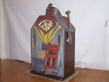 Antique Jennings Little Duke 1c Penny Slot Machine Jackpot Payout Original