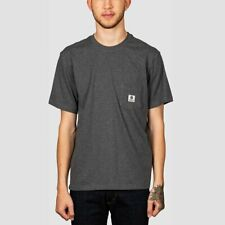 Element Basic Pocket Label Tee Charcoal Heather