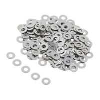 100/200 Pack Stainless Flat Washer Metric Screw Gasket M2 M3 M4 M5 M6 M8