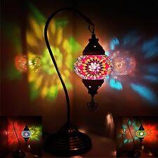 SPECIALE 3in1 Turco Marocchino Colorato mosaico luce Tiffany in Vetro SCRIVANIA TAVOLO REGNO UNITO