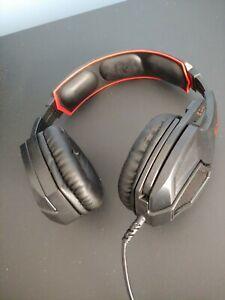 Sades Red Gaming Headset