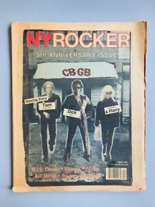 New York Rocker / Edition originale (1981) / CBGB / Blondie / Ramones / Punk
