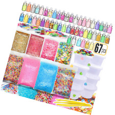 Diy Cookie Slime Charms Supplies Slime Accessories V5H7 Sweets Biscuits Fil P2W0
