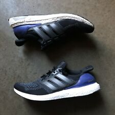Men's 2015 adidas Ultra Boost 1.0 OG Black Gold Purple Blue Low Sz 11.5 (B27171)