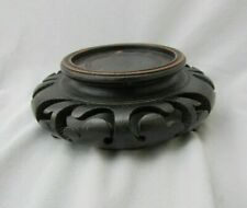 NEW 5.5 Inches Mahogany Wood Display Stand For Vase Jar Pot Teapot Figurine
