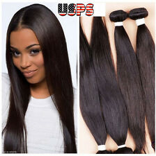 Hair extensions ebay 100 unprocessed virgin human hair brazilian peruvian extensions weft us stock 8 1 bundle 50g pmusecretfo Choice Image