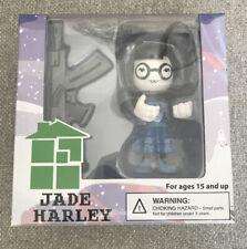 Homestuck Jade Harley Action Figure Vinyl What Pumpkin Happy Worker With Rifle