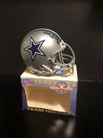 BOB LILLY Signed Autograph DALLAS COWBOYS Mini Helmet Sharco Authenticity