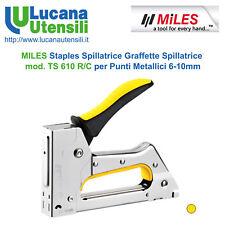 MILES Staples Spillatrice Graffette Spillatrice Mod. TS 610 R/C Punti Metallici