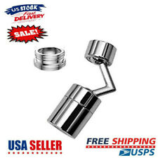 Kitchen Bathroom Universal Splash Filter Faucet 720° Rotate Water Outlet Faucet