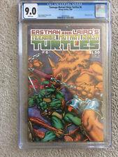 Teenage Mutant Ninja Turtles #6 (1985, Mirage) cgc 9.0