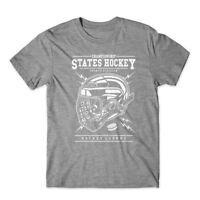 Hockey T-Shirt 100% Cotton Premium Tee New