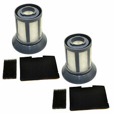 2x HQRP Dirt Cup Filters for Bissell 2031532 Zing 6489 64892 10M2 Bagless Vacuum