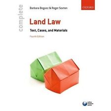 Complete Land Law: Text, Cases, and Materials by Barbara Bogusz, Roger Sexton