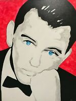 Frank Sinatra Nice and Easy Icon Singer Ol' Blue Eyes Music Rat pack Painting