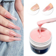 Strong Nail Poly Builder Gel UV Gel Nail Extension Glue 56g e.2oz Cover Pink