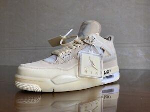 Air Jordan 4 Sail Off White EU43 US9.5 Authentification StockX + Box