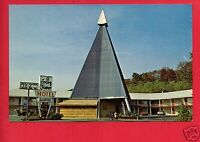 GREENBROOK NJ IVORY TOWER MOTOR INN MOTEL OLD CARS  POSTCARD