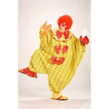 STRETCHY THE CLOWN Costume One Size Adult Unisex Halloween
