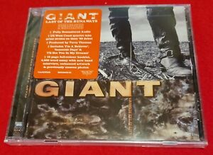GIANT - Last Of The Runaways - ROCK CANDY Remastered Edition - CD