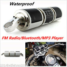 Motorcycle Bluetooth Audio Sound System MP3 FM Radio Stereo Speakers Waterproof
